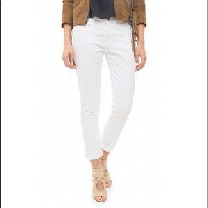 FRAME Le Garçon Skinny Mid-rise Jeans